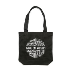 Wool on Wheels Tote with Tagline Thumbnail